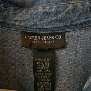 Classic Ralph Lauren Jean dress EUC size sm maxi